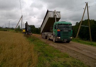 """Atjaunots pašvaldības autoceļš 72-27 """"Kščeva – Papuļi"""""""