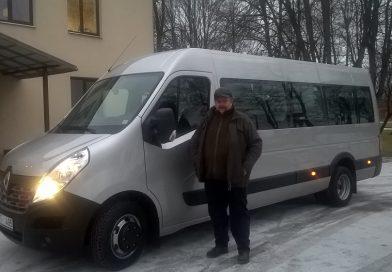 Medumos iegādāts jauns autobuss