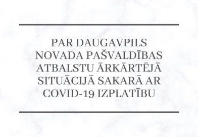 ATBALSTI saistībā ar COVID-19